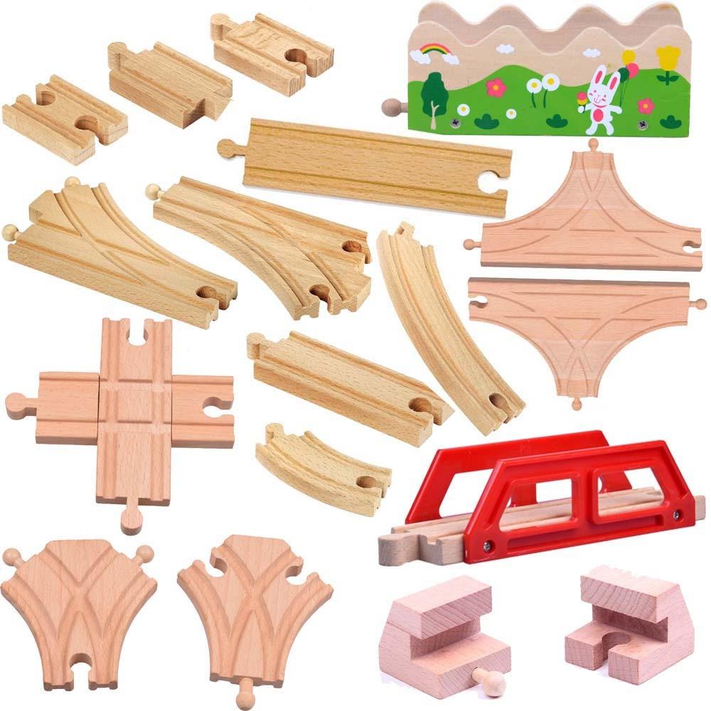 18pcs-lot-kids-wooden-train-toys-Tomas-and-Friends-Train-head-railwy-slot-beech-wood-Track