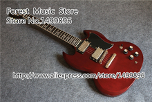Wholesale & Retail China Aged Cherry Finish Angus Young SG Guitars Electric Free Shipping(China (Mainland))