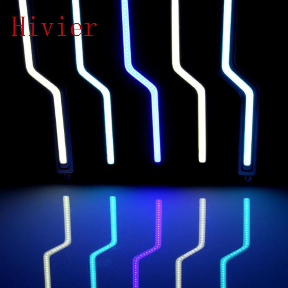 10pcs/lot ultra-thin LED daytime running car light waterproof COB type Z-shaped universal retrofit daytime running lights<br><br>Aliexpress