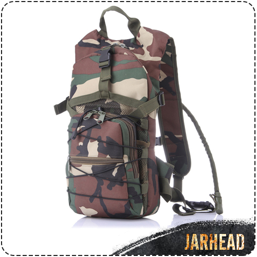 outdoor 2.5L Camelback Water Bag Backpack Camo 2.5L Hydration Bladder Hiking bag hunting Riding water pack Hiking Climbing bag(China (Mainland))