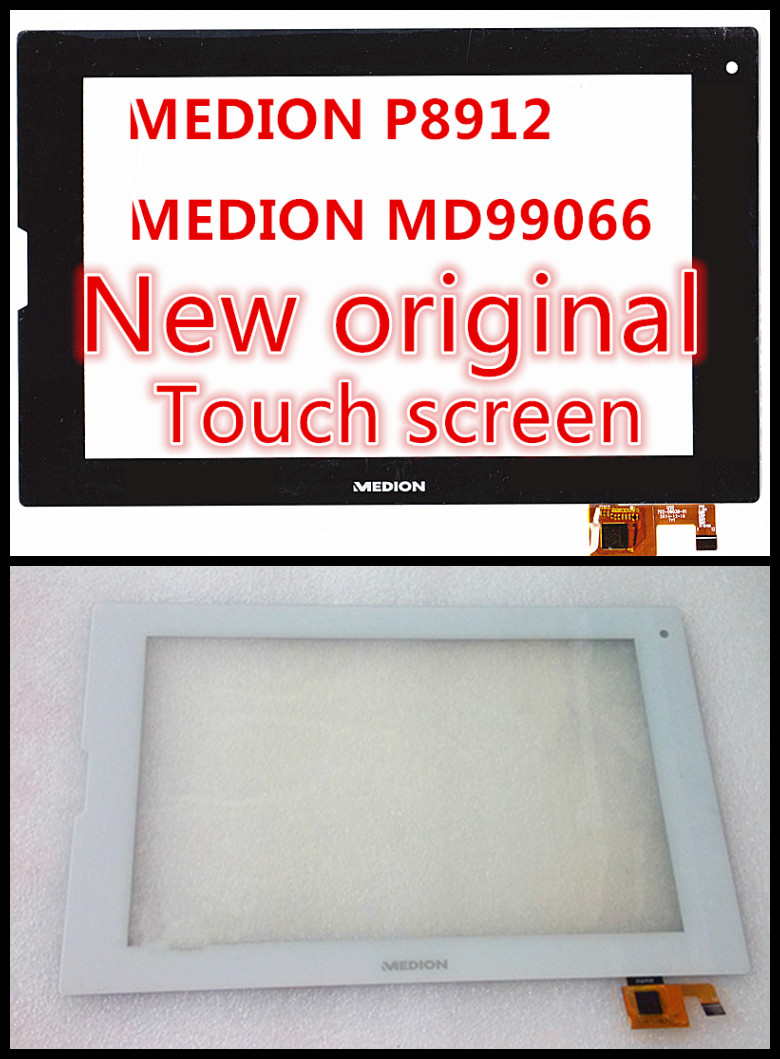 2PCS 8.9inch for medion lifetab P8912 MD99066 MD 99066 P8911 MD99118 99118 tablet pc touch screen panel digitizer glass sensor(China (Mainland))