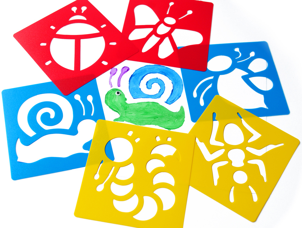 Stencil For Kids Stencils Design Wall And Stickers