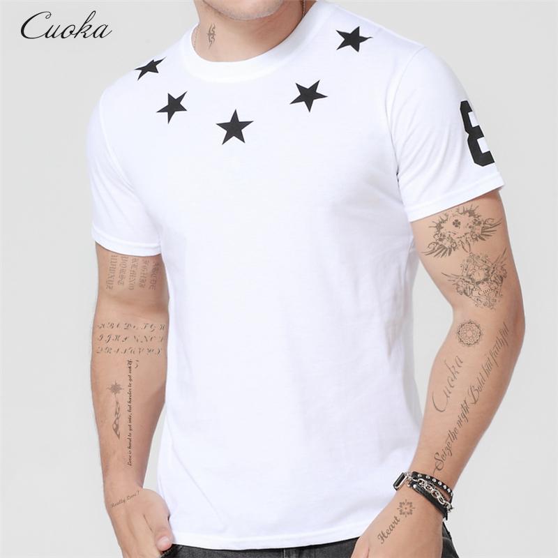 Hot Sell Cuoka Brand Clothing Casual Tops Hip Hop Star