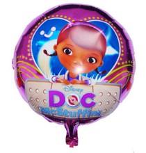 doc mcstuffins baby girl balloons decoration balao de festa produtos para festa aniversario infantil