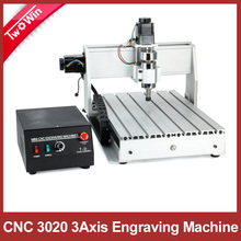 Free shipping 300W CNC 3020 T-D300 DC power spindle motor CNC engraving machine drilling router(China (Mainland))