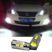 2X T10 10SMD LED w5w Bulbs Clearance Parking Light FOR Lexus rx300 is250 rx rx330 330 350 lx470 is200 lx570 gx460 GX ES LX - CarSC store