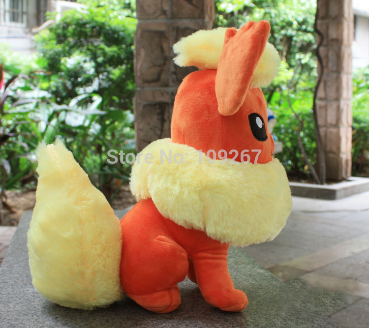 BANPRESTO Pokemon plush toys big size Flareon 12inchs 31cm cute plush doll(China (Mainland))