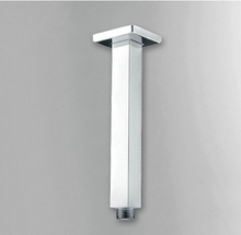 """Buy 11 """" Chrome Polished Square Rainfall Shower Arm Bath Shower Components HJ-0424K for $22.44 in AliExpress store"""