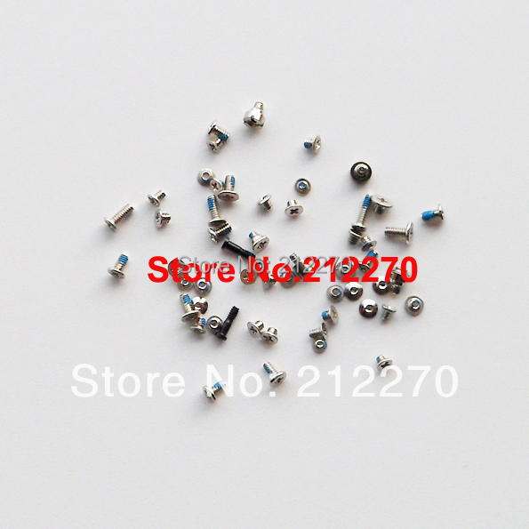 200pcs/lot Original New Full Screws Set For iPhone 5 Replacement Parts Wholesale Free DHL EMS