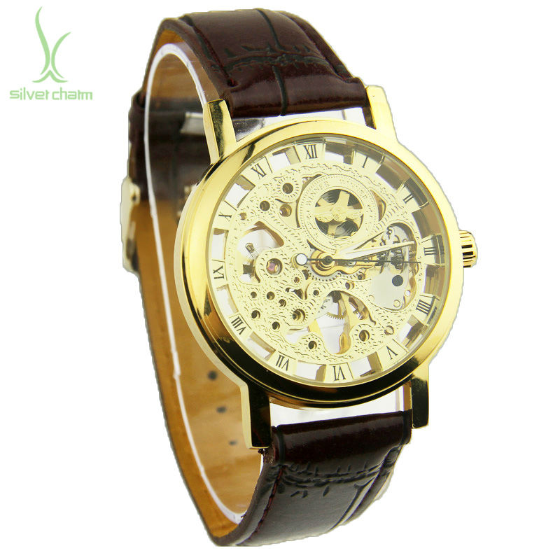 Watches Manual Wind Hand Wind Skeleton Watches