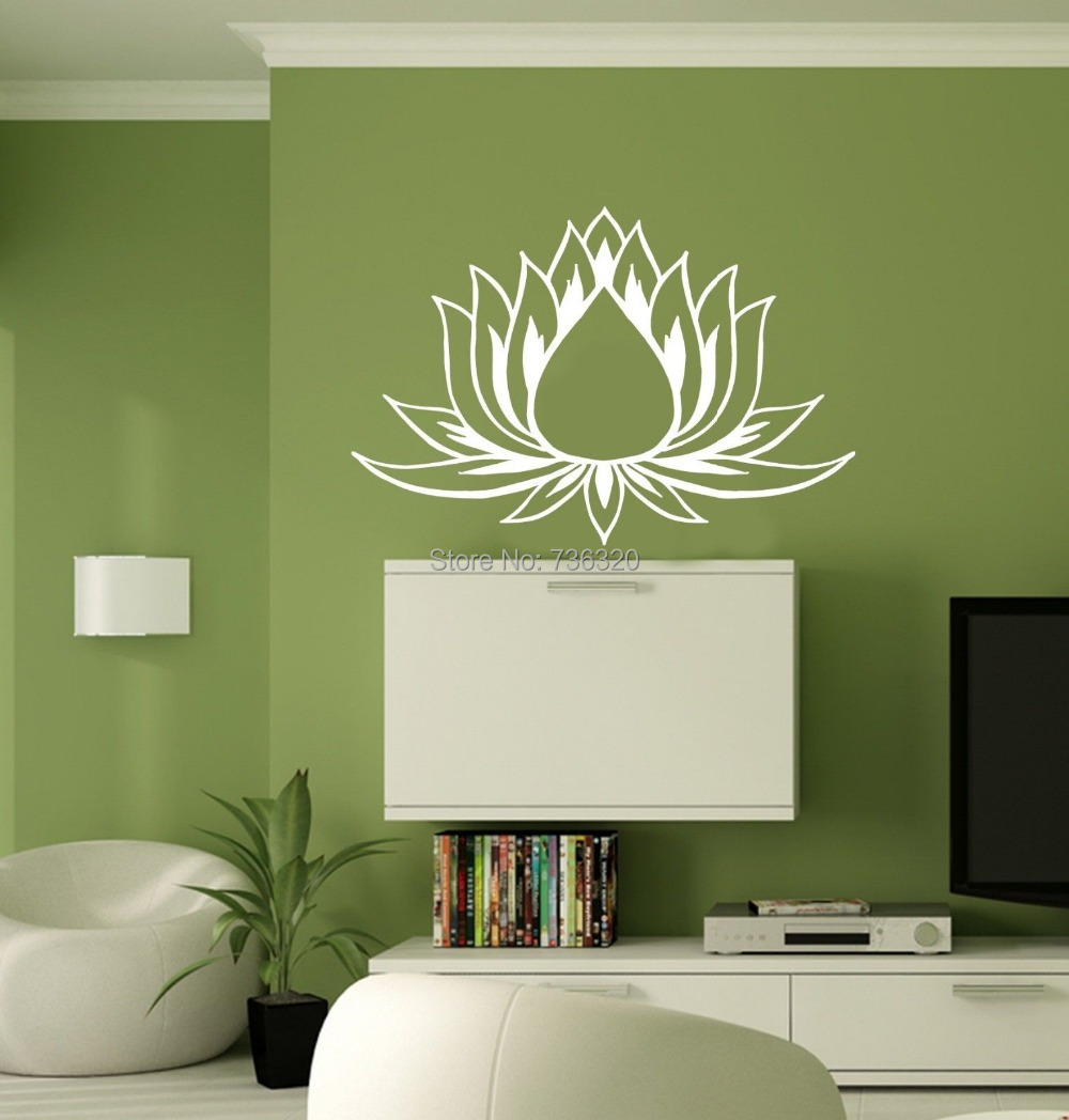 Buddha wall stickers promotion shop for promotional buddha for Deco mural zen