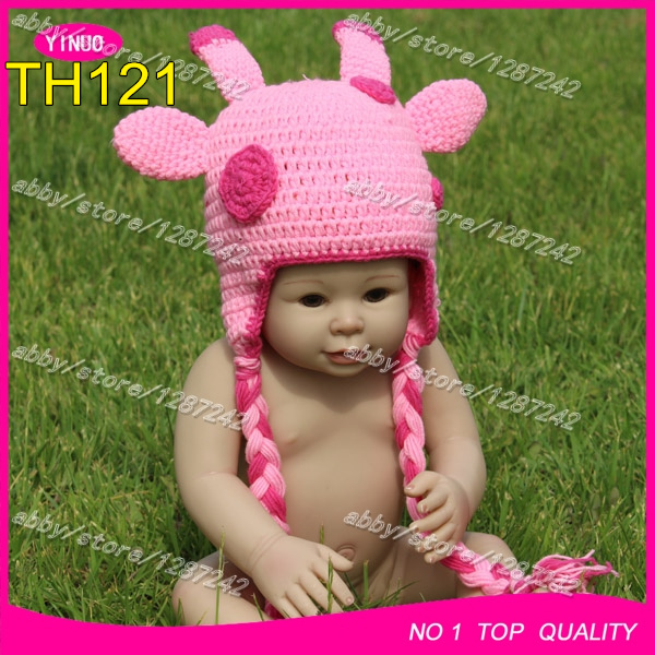 Crochet Hat Pattern Baby Giraffe Beanie Hat : 2015 Winter crochet baby hat christmas hat for baby ...