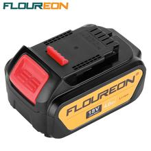 FLOUREON 18V 4000mAh Battery Power Tools Batteries Replacement Cordless for DeWalt Drill DCB181 DCB182 DCD780 DCD785 DCD795(China (Mainland))