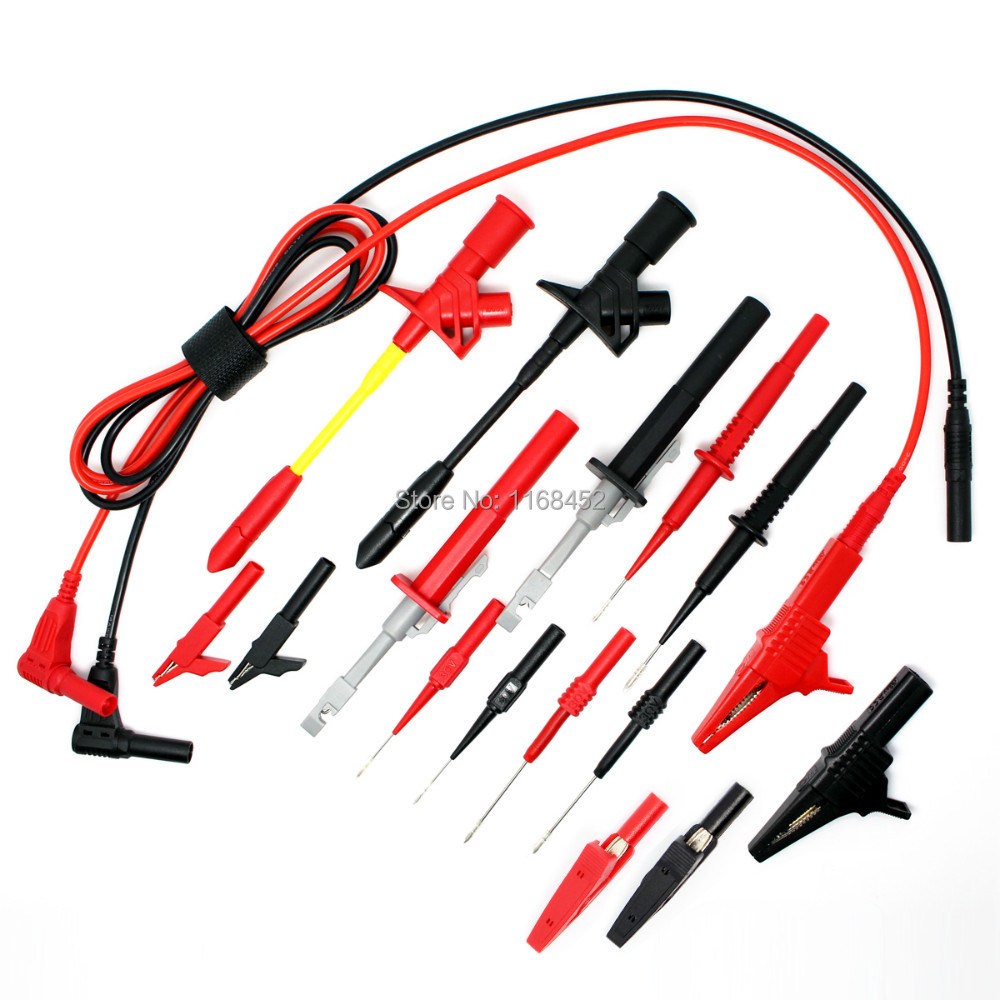 Electronic Test Probes : Dmm electronic specialties test lead kit automotive