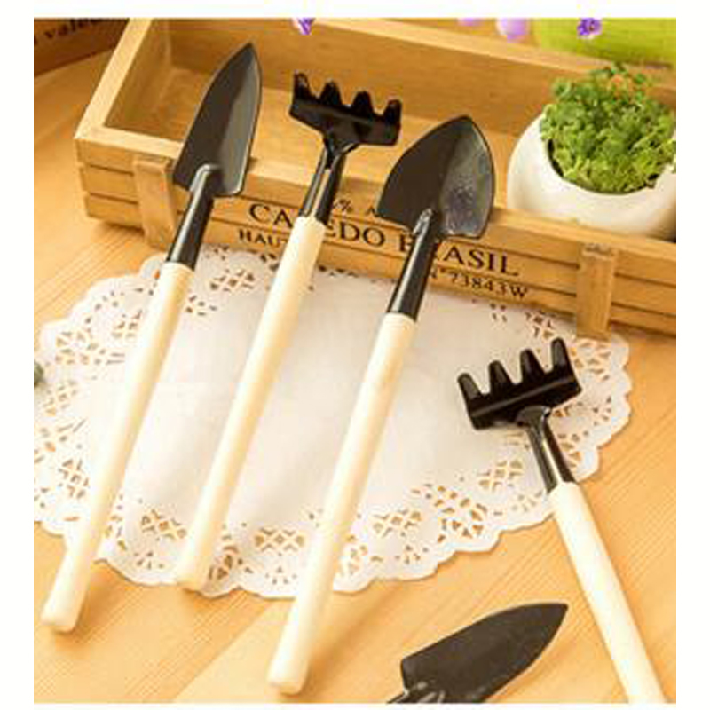 Multifunctional gardening tools flowers potted ripper tool mini garden tools small shovel rake shovel office potted plant DL2410(China (Mainland))