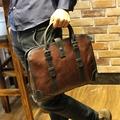 Crazy Horse Leather Handbag Bag New Men s fashion business bag
