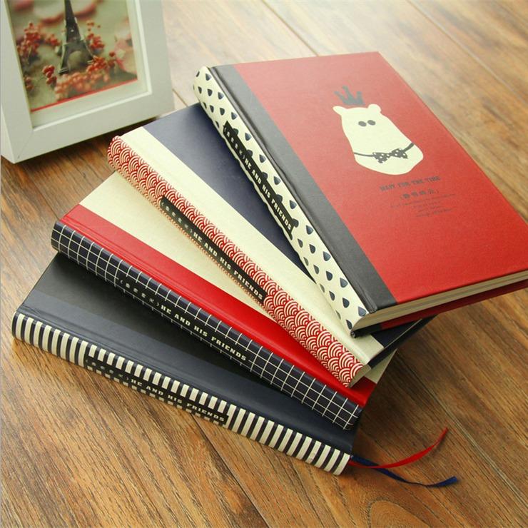 Inner Peace Printed Lined Diary Hard Cover Cute Planner Pocket Journal School Study Kawaii Notebook Korean Agenda Notepad Gift<br><br>Aliexpress