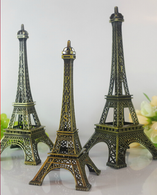 One Piece Metal Ornaments Eiffel Tower Decoration Kitchen