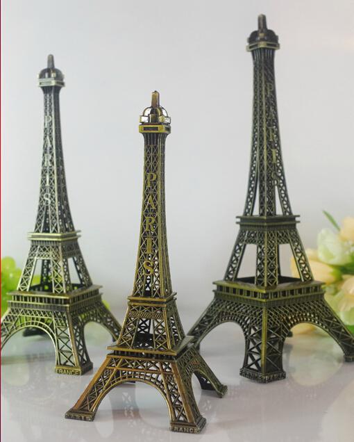 One Piece Metal Ornaments Eiffel Tower Decoration Kitchen