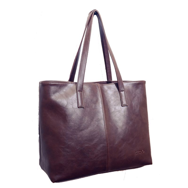 Luxury Women Designer Leather Shopper Handbags Ladies Big Black Sling Bag Vintage Portable Sac A Main High Quality Brand Bag Hot(China (Mainland))