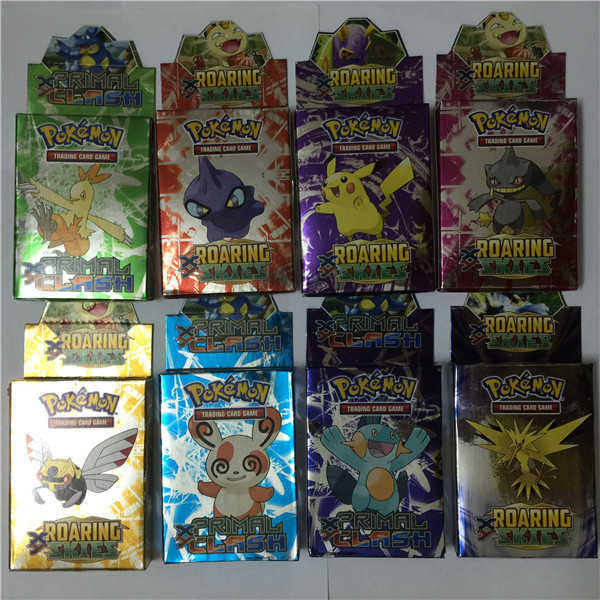 25PCS/box New English Pokemon Action Toys Figures EX game card for kids children Mini Classic Toys playing Game Collection Card(China (Mainland))