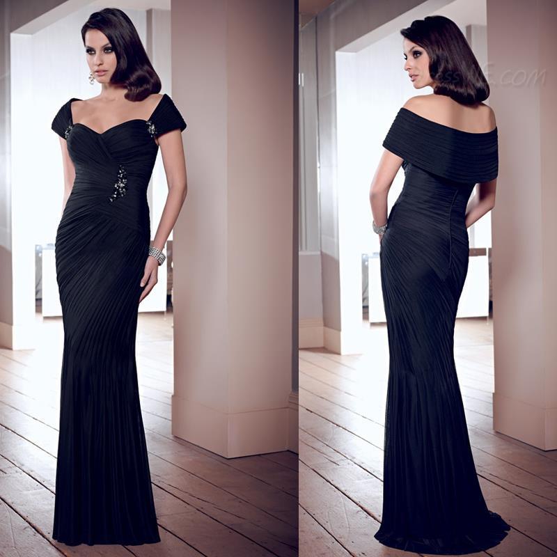 LIR064 Elegant Trumpet Mermaid Strapless Beading Floor Length Evening Dress - Serenity Bridal & Formal Shop store