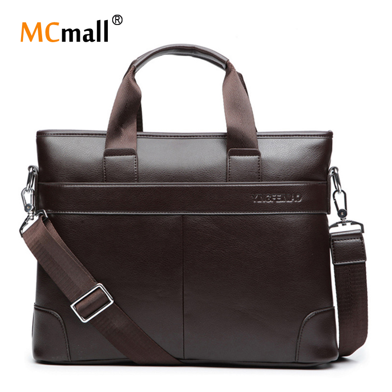 2016 Men Briefcase Business Shoulder Bags Men Leather Bag Handbag Men Messenger Bag Laptop Men's Travel Bags OB-007(China (Mainland))