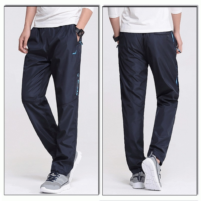 2016 New Quick Dry Men's Sports Pants Full Length Men Outdoor Running Pants Plus Size 3XL Men Jogging Trousers & Pants , PA209