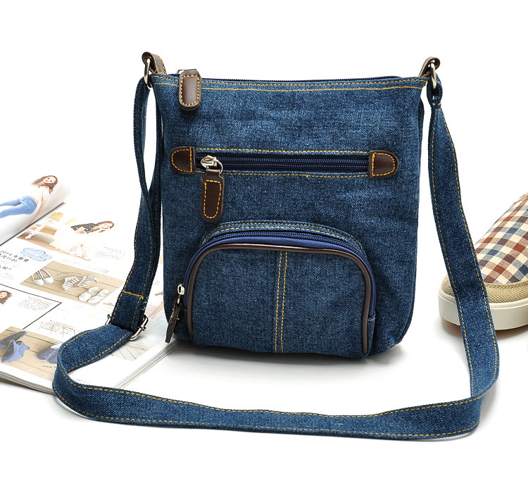 vintage casual oxford jeans small blue handbags hotsale ladies party purse clutch women crossbody famous shoulder messenger bags(China (Mainland))
