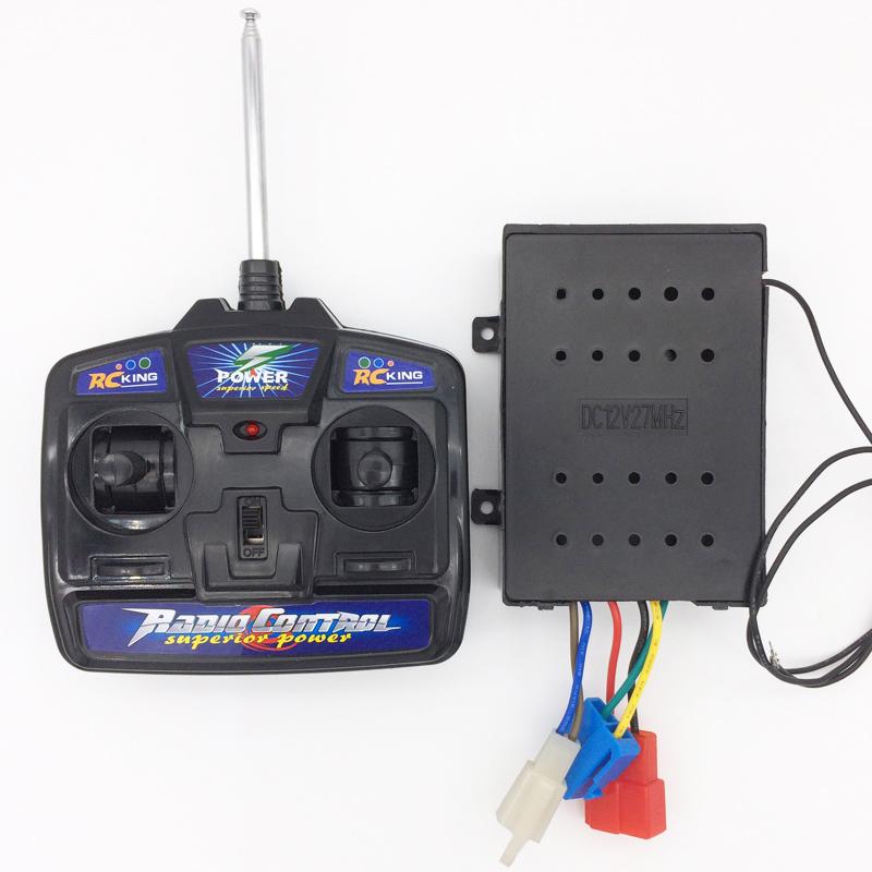 Auto Control Remoto Receptor De Control Remoto Para Niños Eléctrico Práctico