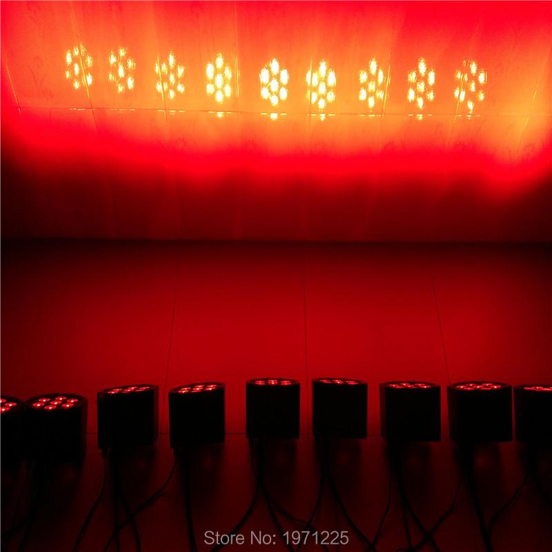 3pcs/lot the brightest 3/7 dmx Channels LED Flat Par SlimPar No Noise 7x9W RGB 3IN1 3/7Channels<br><br>Aliexpress