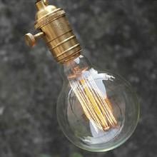 Brand New Carbon Classical Art light bulb antique Retro Edison lamp G80 E26/E27 220V 110V Halogen Bulbs(China (Mainland))