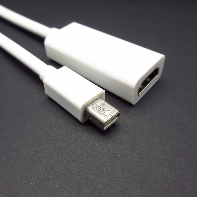 Mini DisplayPort Display Port DP to HDMI Adapter Cable For Apple Mac Macbook Pro Air(China (Mainland))