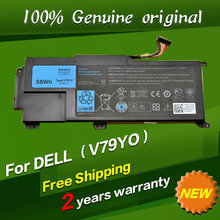 Free shipping V79Y0 V79YO Original laptop Battery For Dell XPS 14Z L412X 14Z-L412Z L412z L511z Series
