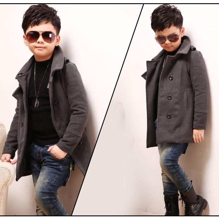 12 т осень и зима дети пальто мода