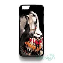 Fit for iPhone 4 4s 5 5s 5c se 6 6s 7 plus ipod touch 4/5/6 back skins cellphone case cover ARABIAN HORSE ART