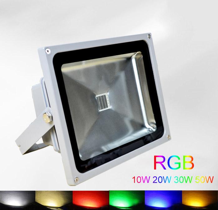 Прожектор Green light 10W 20W 30W 50W RGB 20% Flood Lights