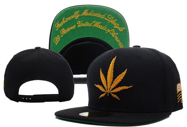 2014 brand new 420 gold Marijuana leaf Snapback hats hiphop baseball cap for men and women free size leisure sun hat sport cap(China (Mainland))