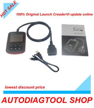 2013 Launch Creader VI Code Reader OBD2 auto scanner Car diagnostic tool Update On Official Website