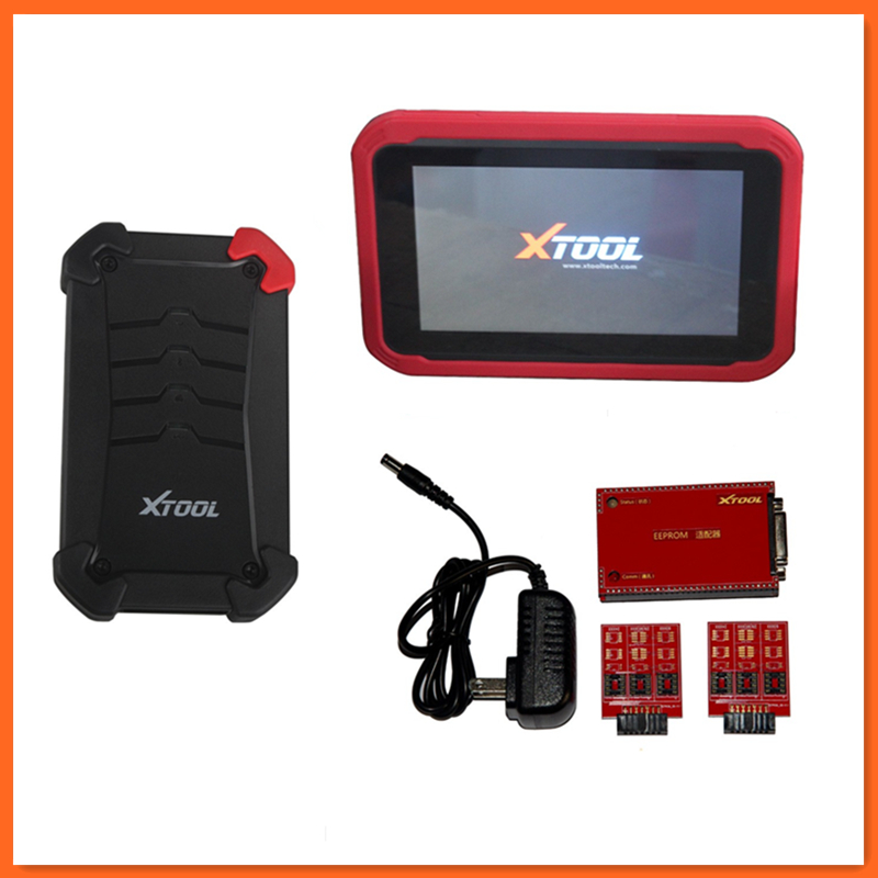 XTOOL X-100 PAD Tablet Key Programmer with EEPROM Adapter Support Special Functions X100 PAD Car Key Programming(China (Mainland))
