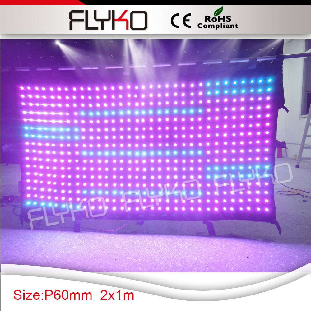 Free Shipping new invented products led stage curtain led video curtain(China (Mainland))