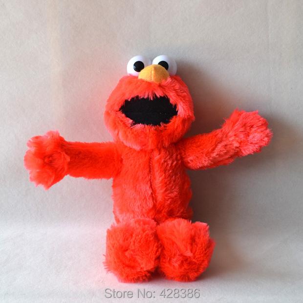 13.3 Inches Stuffed toys Sesame street Elmo plush doll puppet soft gift children 2pcs/set - Truman Hua's store