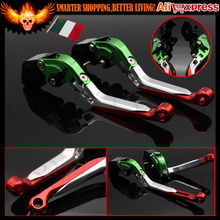 Italy Folding&Extendable Adjustable Motorcycle Brake Clutch Lever For Ducati DIAVEL/CARBON 749 999 1198 /S/R STREETFIGHTER/S 848