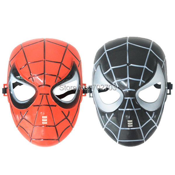 Halloween day plastic Masquerade spider man full Face mask - Yiwu City Pafu Craft & Gift Factory store