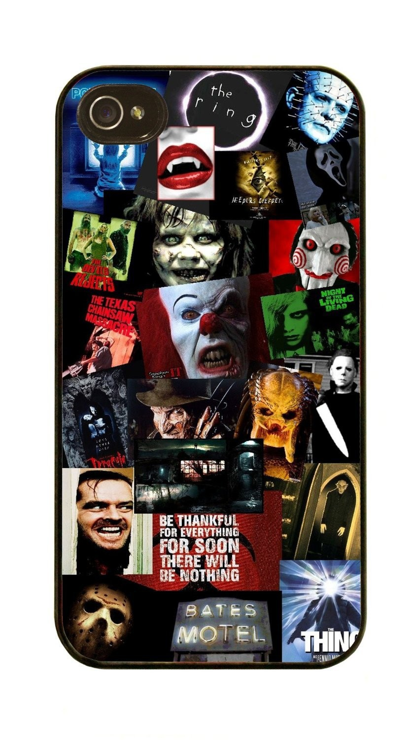 Horror Movie Collage Sherrys phone case for Samsung Galaxy s2 s3 s4 s5 mini s6 Note 2 3 4 5 iPhone 4s 5s 5c 6 6s plus iPod 4 5 6(China (Mainland))