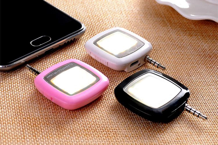 Hot Portable Mini 16 Leds LED Flash Fill Light For iPhone IOS Android Smartphone(China (Mainland))