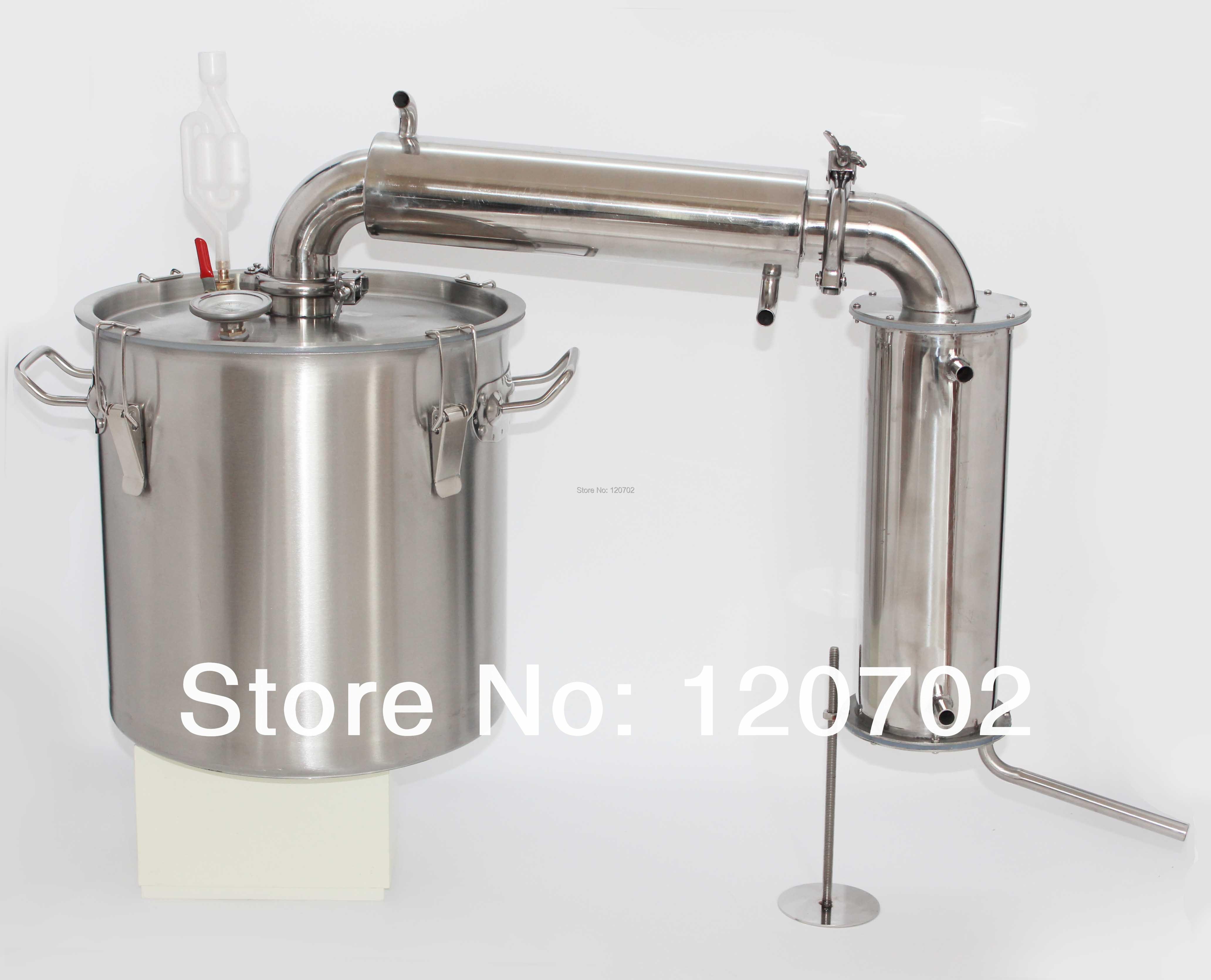 Home Water Distillation Equipment ~ Lwine brewery equipment distiller moonshine ethanol