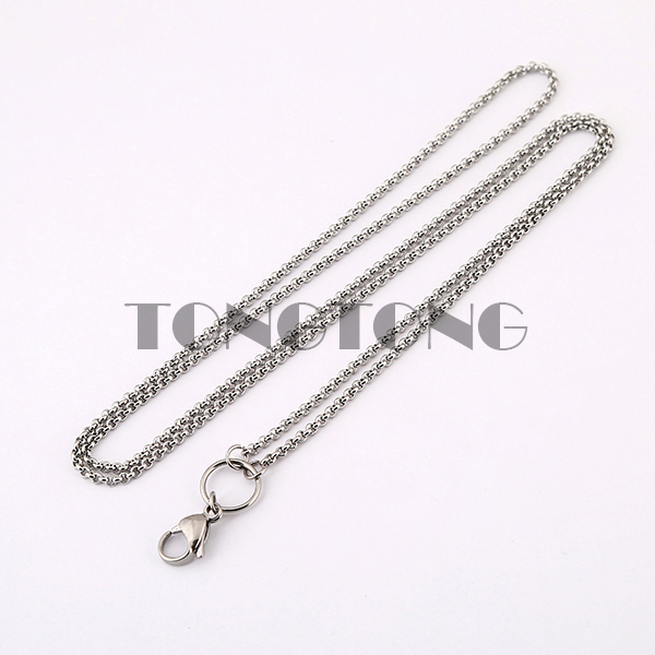 Silver rolo chain 32 inches Stainless steel floating locket chains necklace chain<br><br>Aliexpress