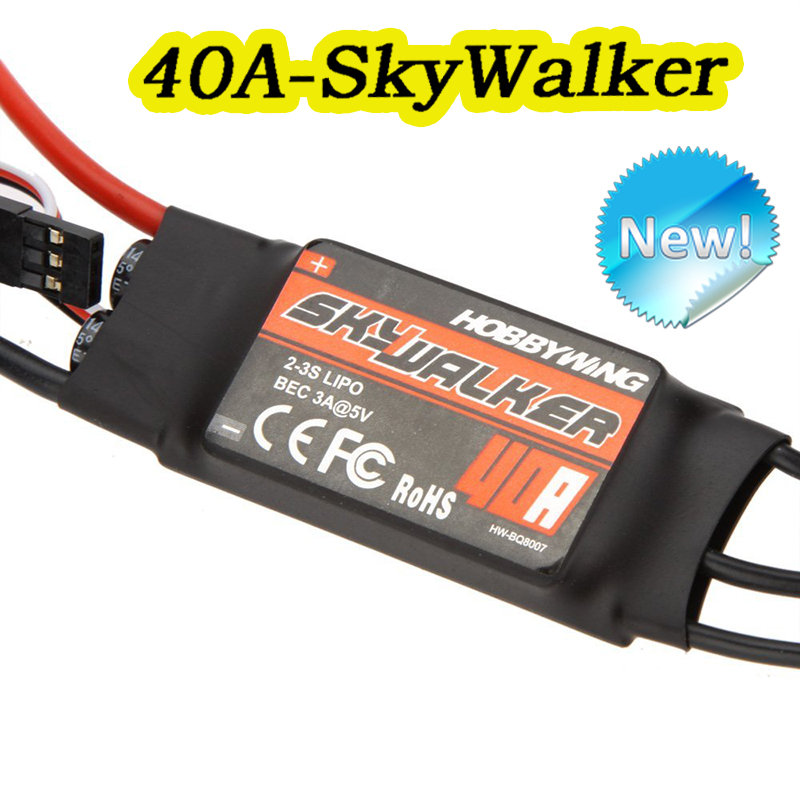 Hobbywing 40A Skywalker Brushless speed controller ESC Multi-Rotor Quadcopter FPV RC UBEC Hobbywing(China (Mainland))