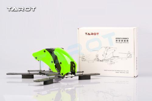 Tarot Robocat Carbon Glass Fiber Mixed 250 FPV Quadcopter Frame Kit TL250H